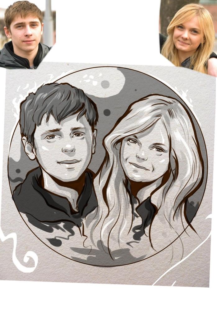 Заказать портрет на годовщину свадьбы в Владивостоке
