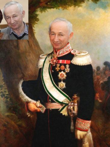 Где заказать исторический портрет по фото на холсте в Владивостоке?