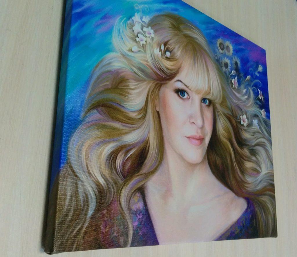 заказать арт портрет на холсте во Владивостоке