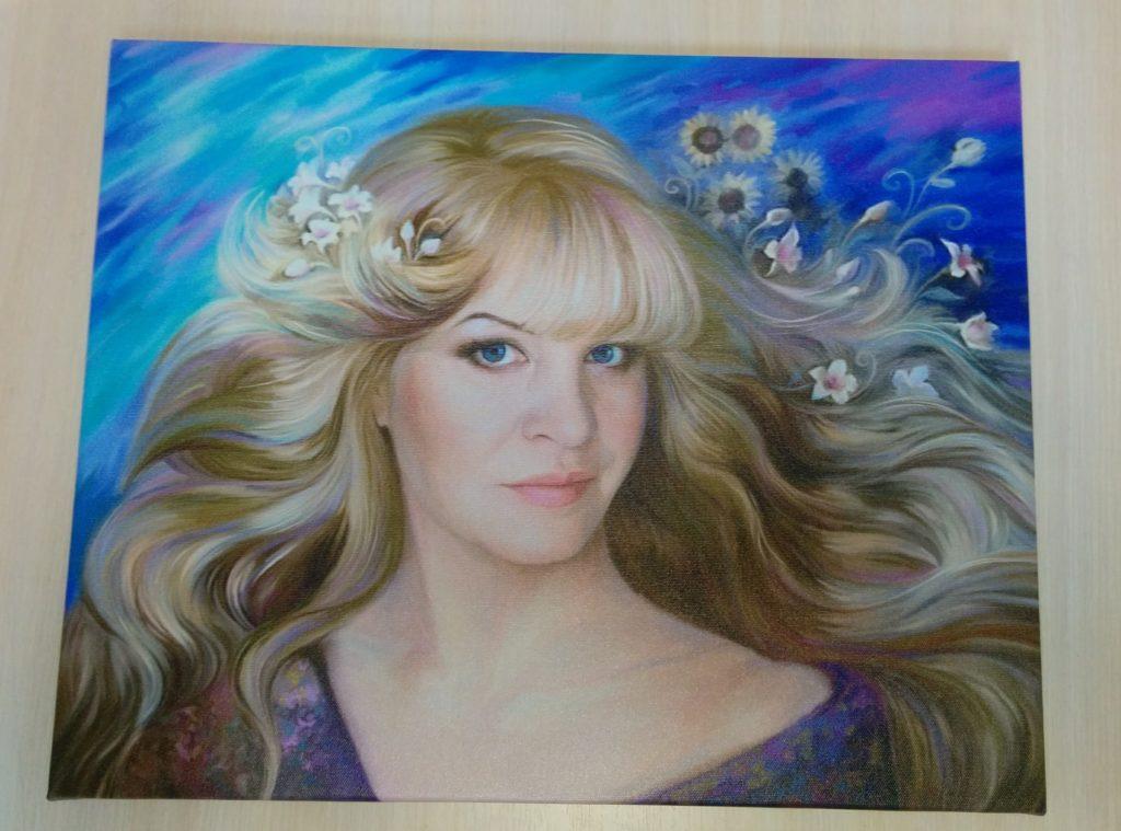 портрет на холсте заказать во Владивостоке