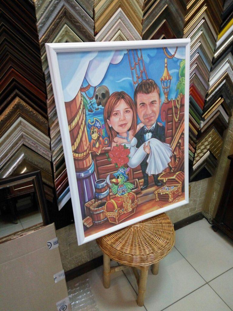 портрет шарж на заказ во владивостоке