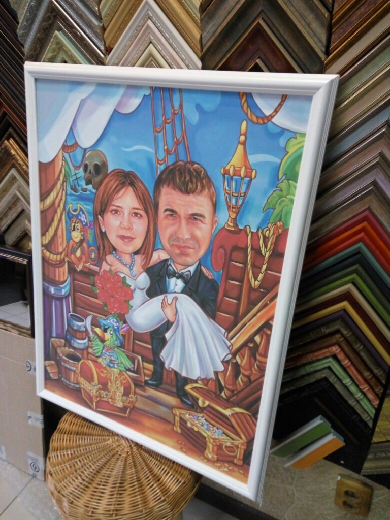 шарж по фото на заказ во владивостоке