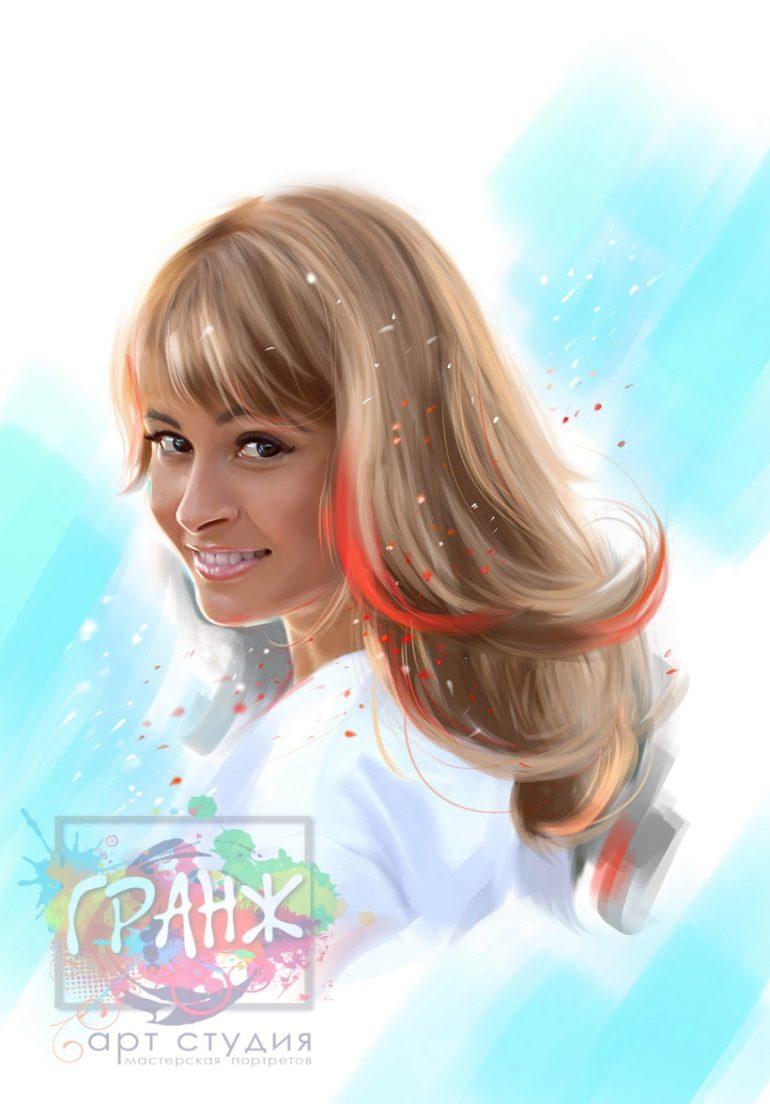Заказать Арт портрет по фото на заказ во Владивостоке