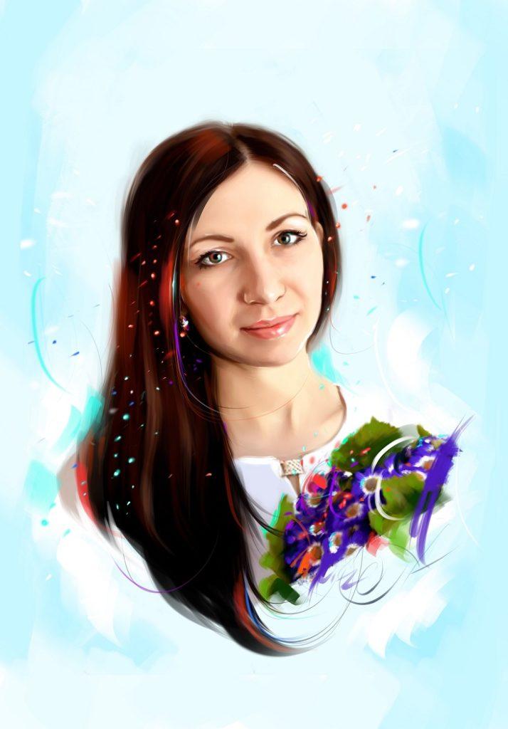 Заказать портрет по фото на заказ во Владивостоке