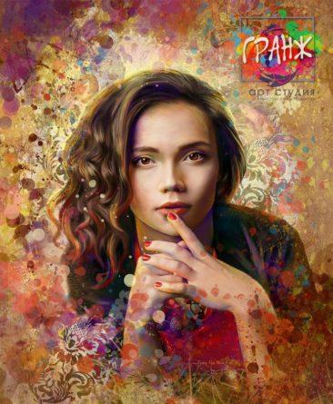 Портрет по фото в подарок заказать во Владивостоке.