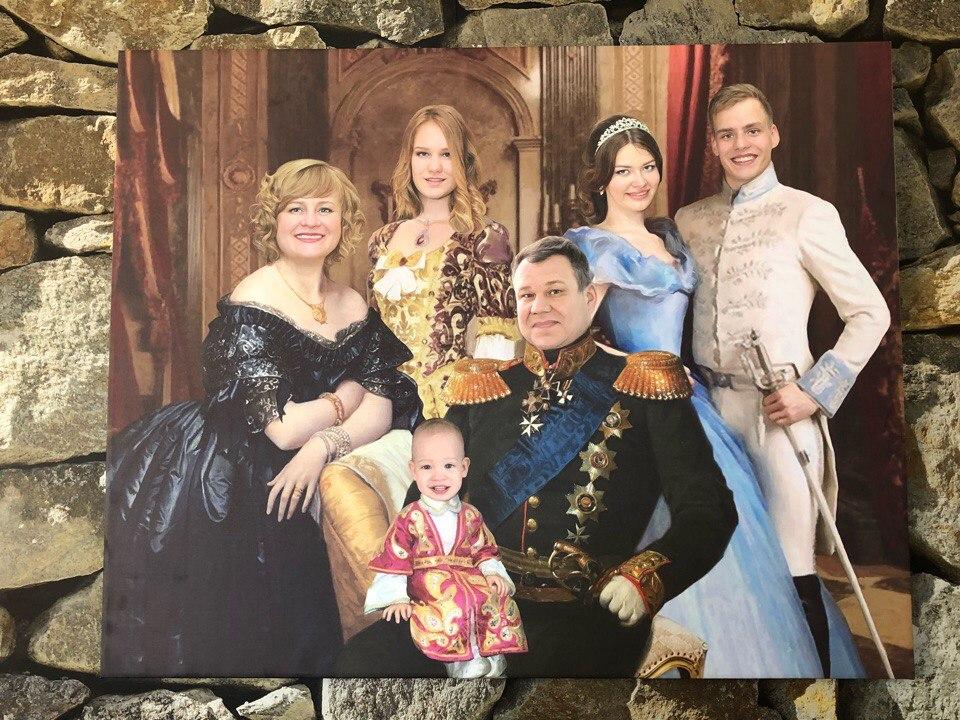 Картина в подарок мужу на юбилей