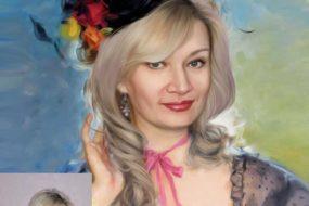 Заказать арт портрет по фото на холсте во Владивостоке…