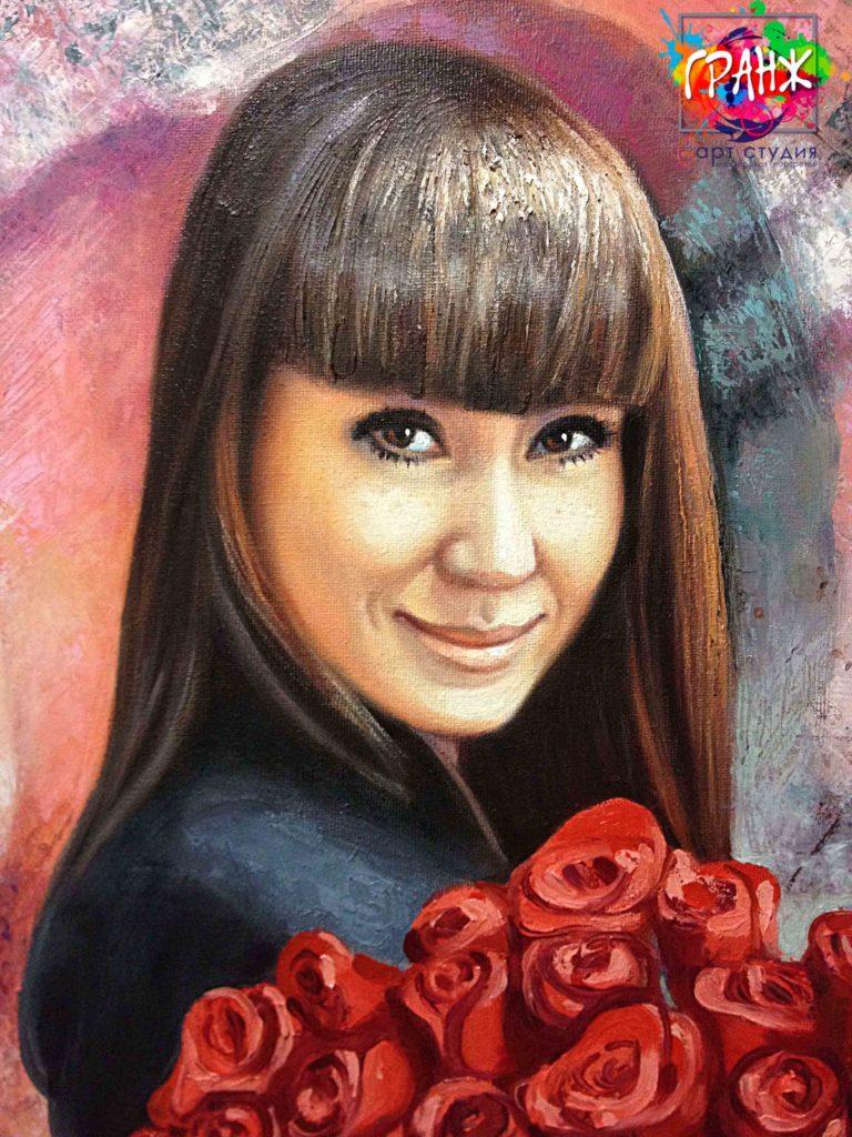 Заказать портрет маслом по фотографии во Владивостоке