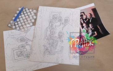 Картина по номерам по фото, портреты на холсте и дереве во Владивостоке